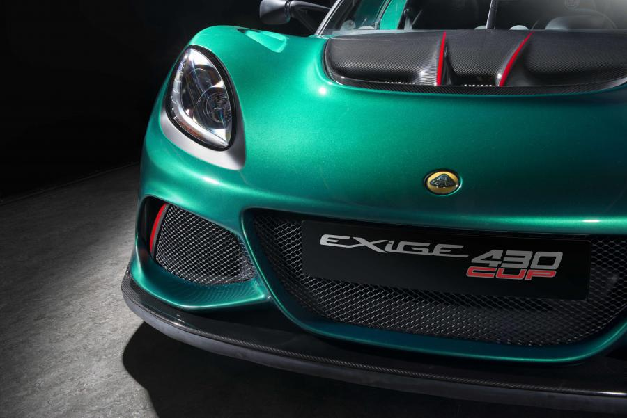 lotus exige cup 430 detail front