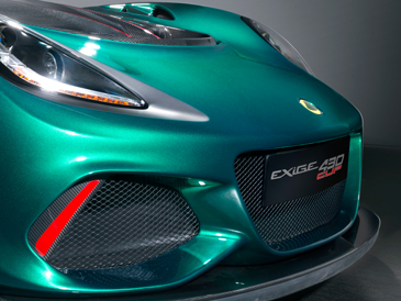 lotus exige cup 430 styling specs